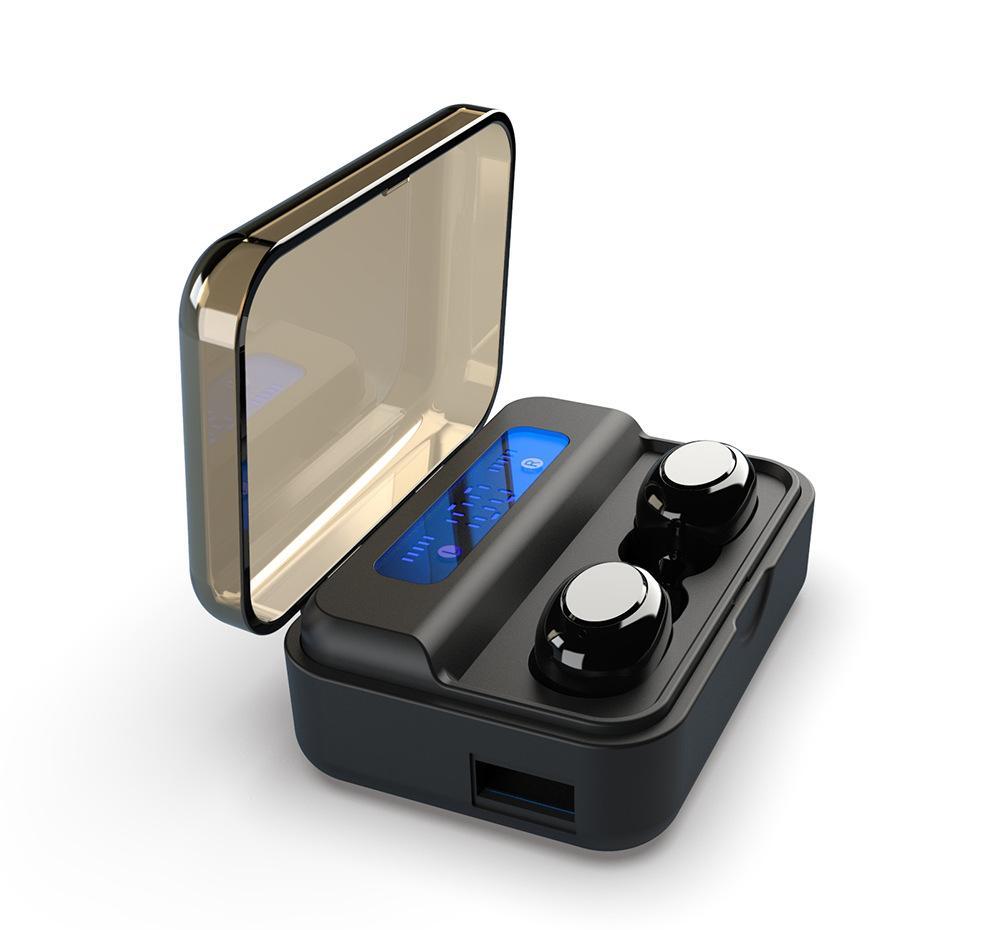 S590 TWS Bluetooth display 5,0 Wireless Headphones 9D controllo auricolari tocco LED Digital vs TOUR 3 di iphone x 11 samsung universale