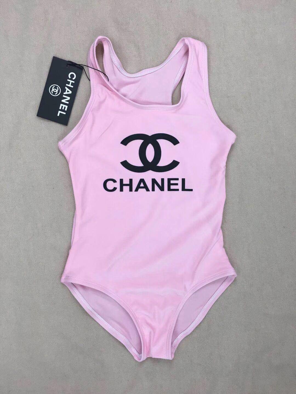 Ins più venduto di fascia alta una -piece neonate tute lettera stampa costumi da bagno abbigliamento bambini costume da bagno spiaggia