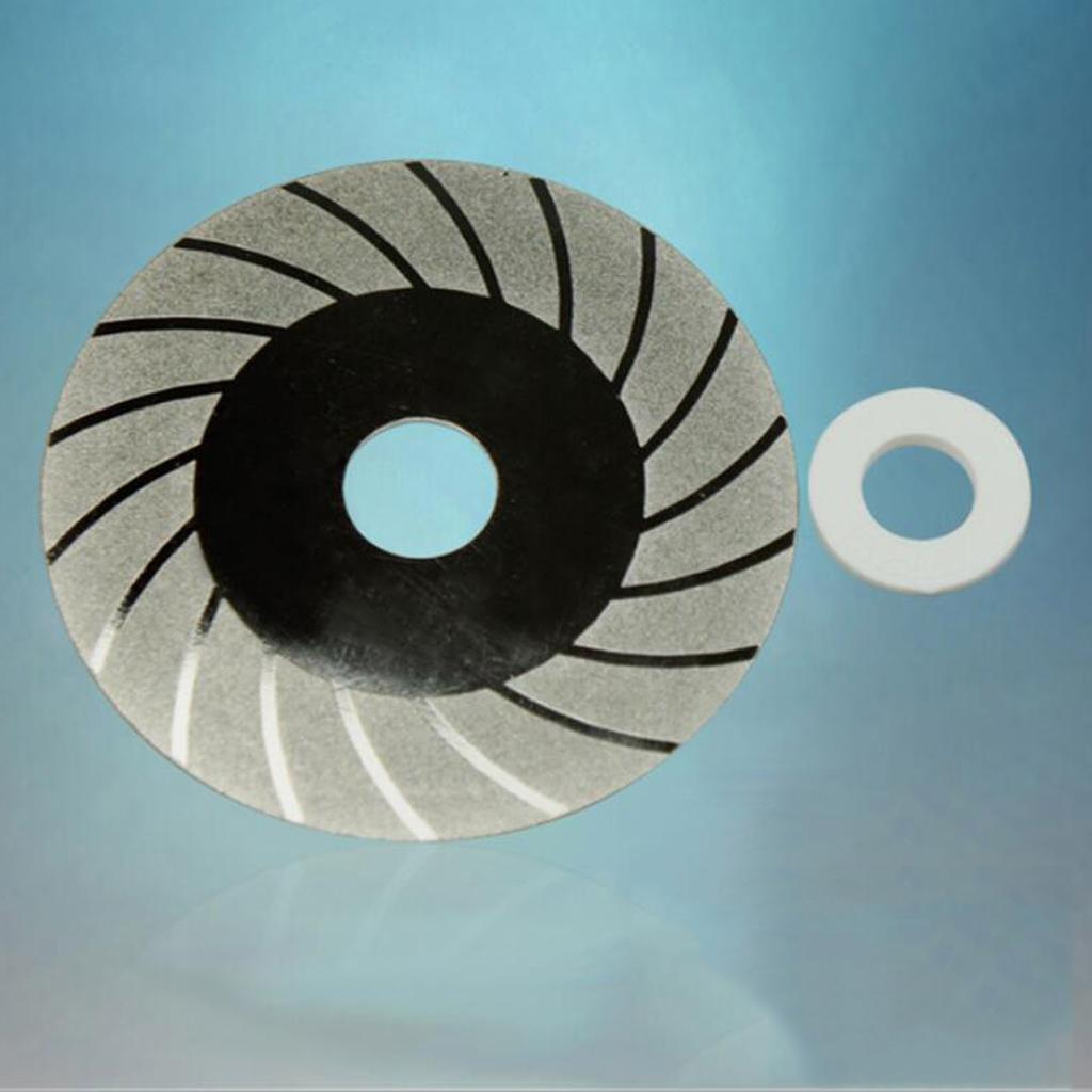 100mm X 20mm Glass Diamond Saw Slice Cutting Disc For Rotary Tools
