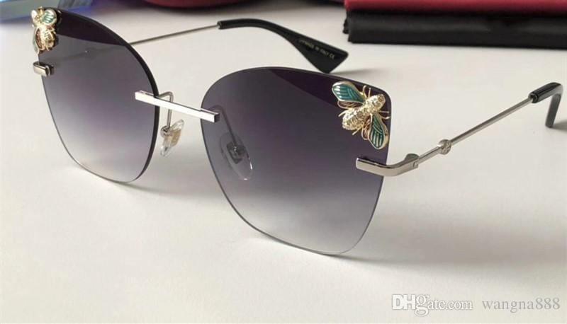 0161 Sunglasses Luxury Women Designer Square Summer Style Full Frame Top Quality UV Protection Mixed Color Come With Package3