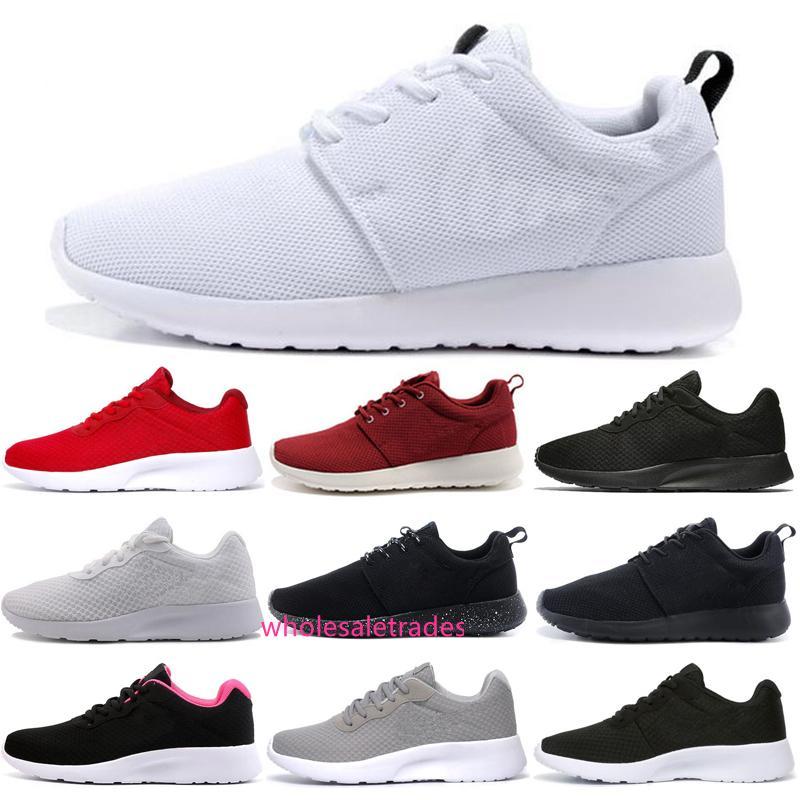 Classique Chaussures de course Tanjun 1.0 3.0 chaussures de sport blanc Triple Black Men Femmes London Olympic Runs entraîneur des hommes de plein air Chaussures de sport