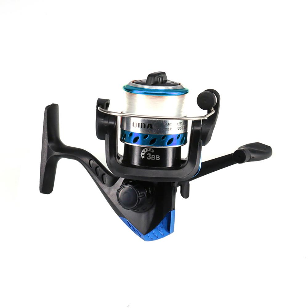 Fishing Reel Line Rod Combo Full Kits Spinning Pole Reel Set with Fishing Float Carp Fishing Hook Lures Swivel Etc Tool Set