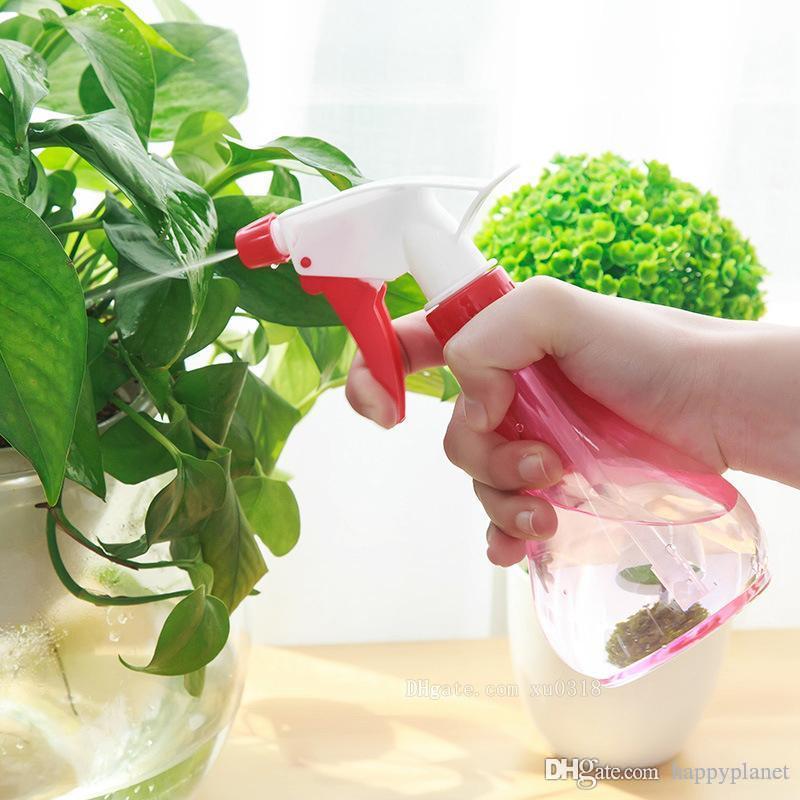Hot strumenti 250ml giardinaggio piccolo annaffiatoio fiore pianta da vaso spruzzo flacone spray pressione della mano la bottiglia irrigazione