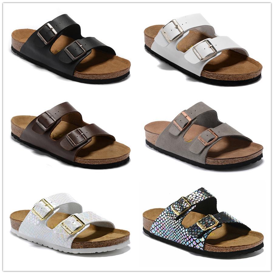2020 de Arizona 2019 Nueva Cork verano de la playa del deslizador Chanclas Sandalias Zapatos color mixto Diapositivas plano ocasional envío US3-15