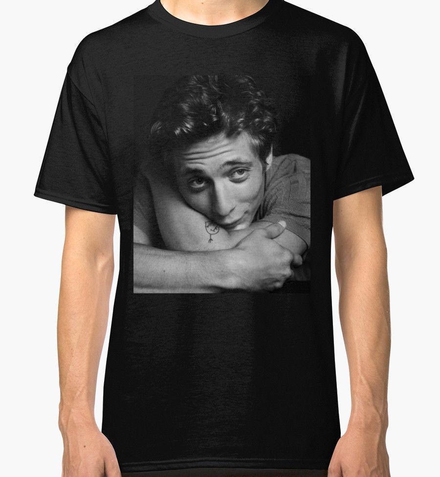 Men Shameless Lip Gallagher T Shirt Casual Cotton TV Series Letter Ptint Tee Top