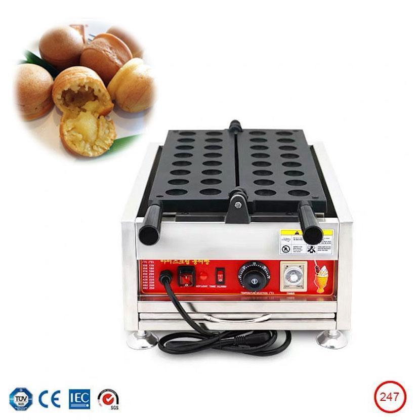 Commercial 16 buche cialde cialde palla elettrica macchina pop capovolgere la torta pan palla Kaya produttore di attrezzature spuntino malese