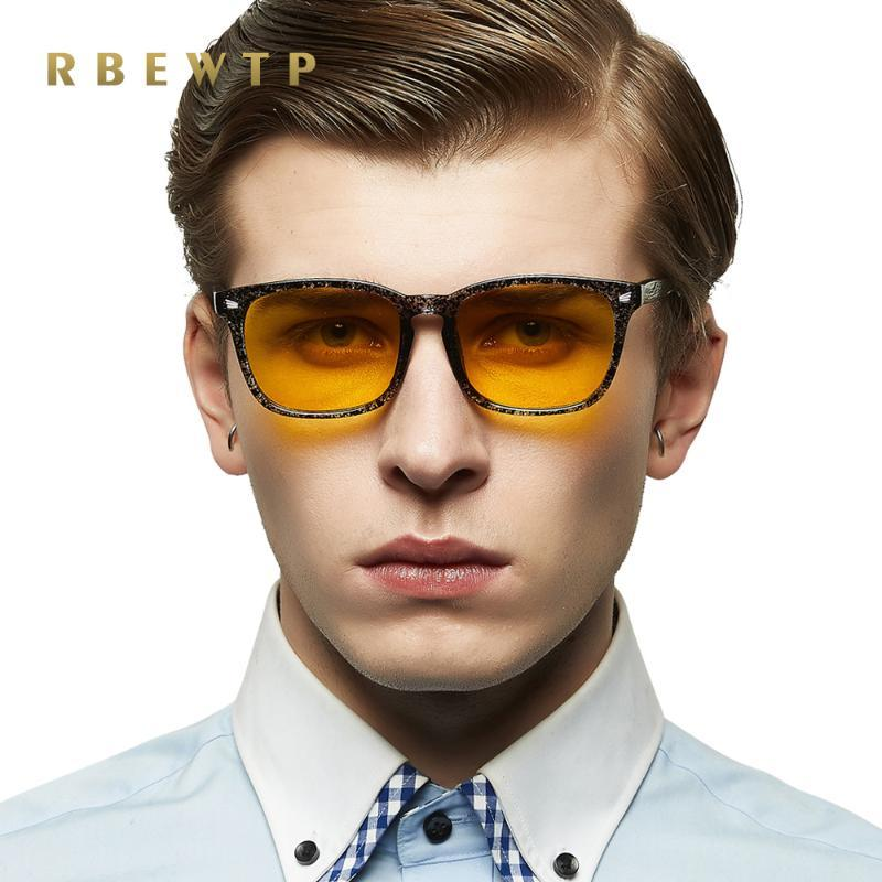 RBEWTP unisexe Bleu Lunettes de blocage a conduit lunettes de lecture radio-résistant oeil Gaming Computer Cadre Lunettes