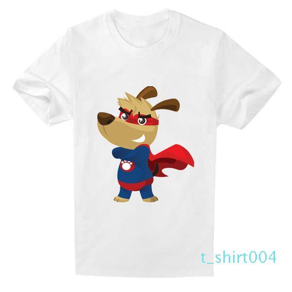 moda yaz kısa% 100 pamuklu t shirt erkek marka giyim pamuk Yumuşak erkek tshirt Karikatür baskı tişört erkek giyim c08t04 Tops