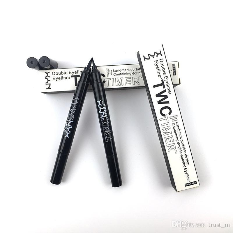 Neuer NYX TWC-Timer Doppelköpfiger Eyeliner Wasserdichter Eyeliner Natural Langlebiger Nyx-Eyeliner Vorrätig