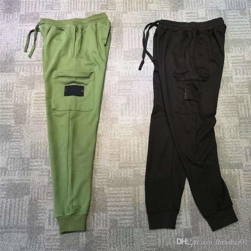 Мужская мода Track Pant Повседневный Стиль Мужские Камуфляж бегуны штаны Тренировочные штаны Cargo Pant Брюки резинке Sweatpants