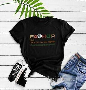 Fa Thor Comme papa juste Way Mightier Hero T-shirts