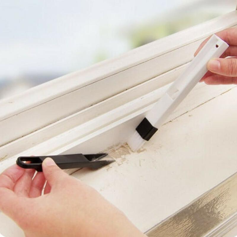 أدوات الأجهزة رخيصة منظفات فرشاة صغيرة لتنظيف لوحة المفاتيح الأخدود الشق نافذة باب منظفات الأجهزة عن بعد