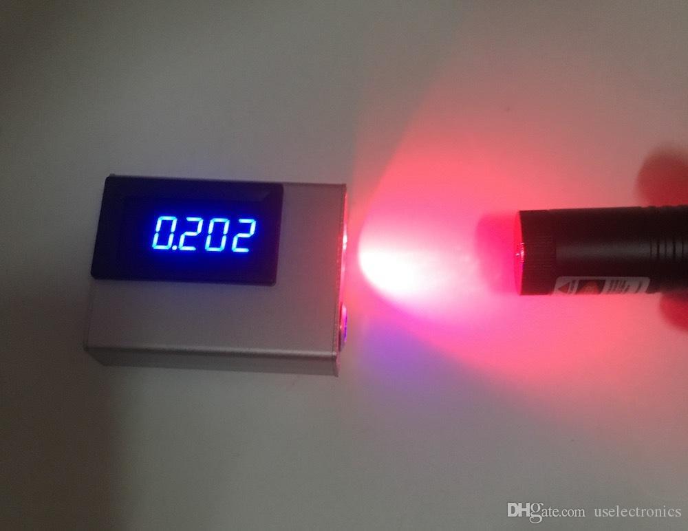 USB аккумуляторная 0-10 Вт лазерный измеритель мощности карманный симпатичный многоволновой 10 Вт лазерный измеритель мощности