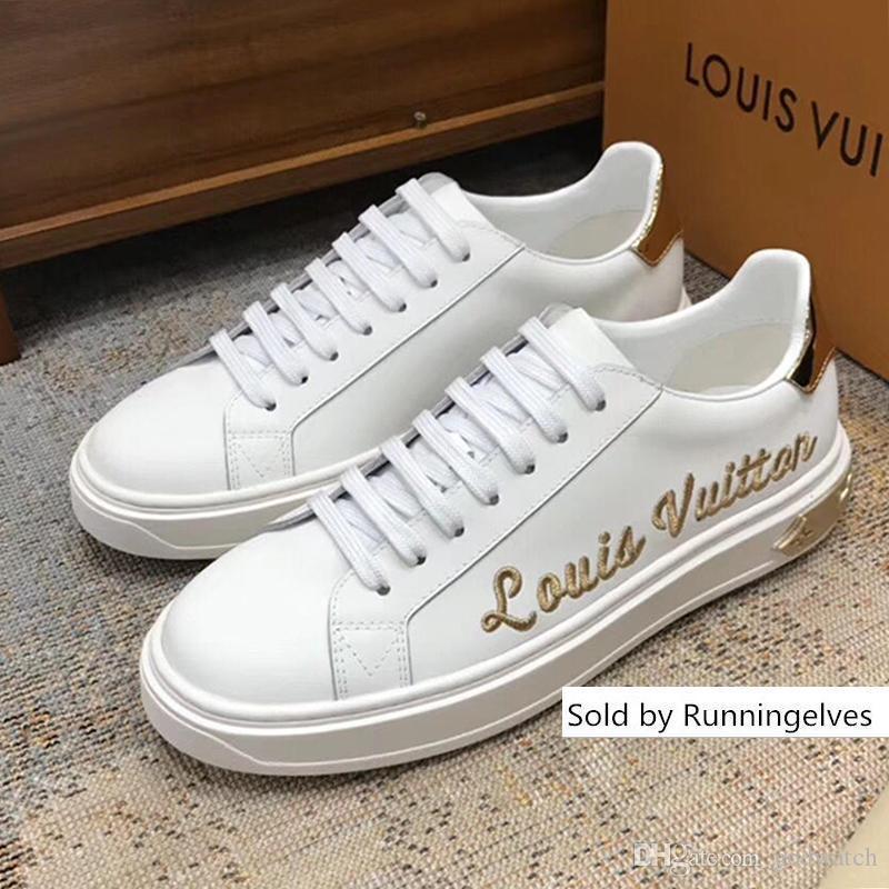 Homens Sapatos Herren Luxus Marken Schuhe Lace-up Low Top Outono e Inverno Popular alta executando clássico Skateboarding Footwears Moda Shoes