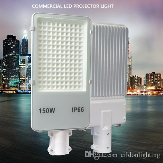 Oro-frijol Street luces LED 150W 100W 85-265 PF0.95 100LM / W Lámparas IP65 a prueba de agua al aire libre de aluminio directos Shenzhen, China por mayor fábrica