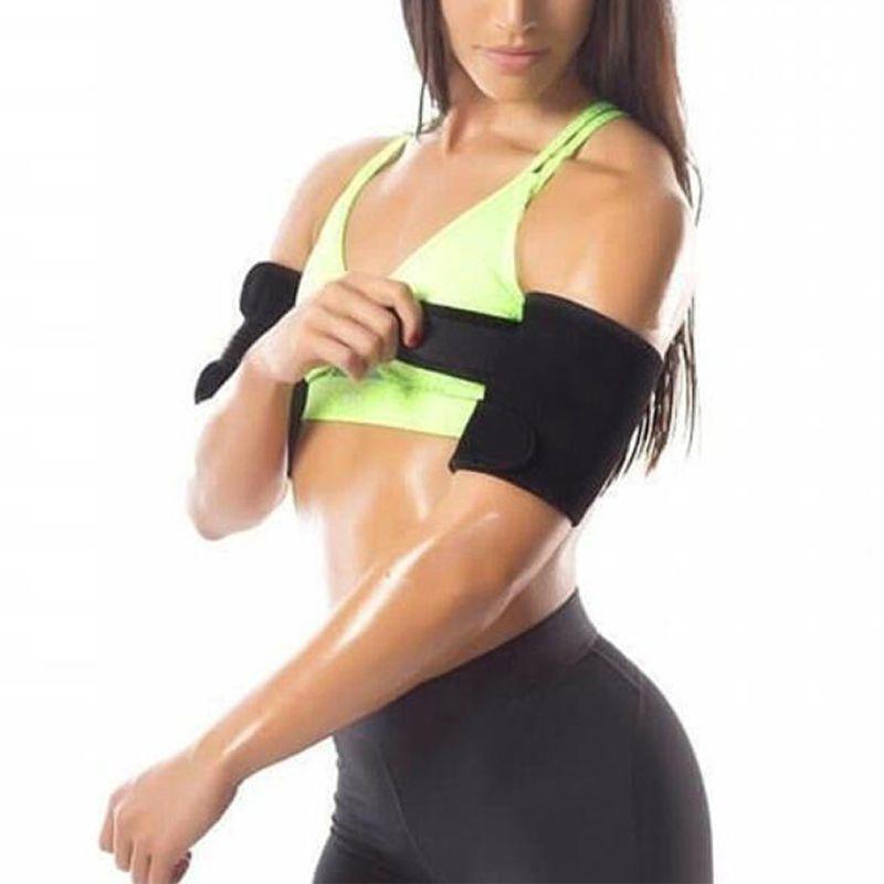 1 PCS Neopreno Womens Control Control Shapers Anti Celulitis Sauna Sauna Pad Pad Slimming Trimmming Brak Shorters Sleeve Belt