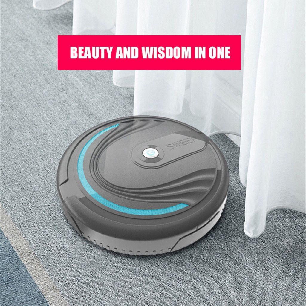 Pieno di vuoto automatico Mini aspirapolvere robot pulitore SweepWet Mop contemporaneamente per hard FloorsCarpet Run Sweeper ricarica