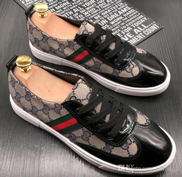 Apparence classique de la marque de chaussures en toile pour hommes et femmes, chaussures plates, chaussures de sport pour hommes, chaussures de sport pour hommes, chaussures de conduite G1.10