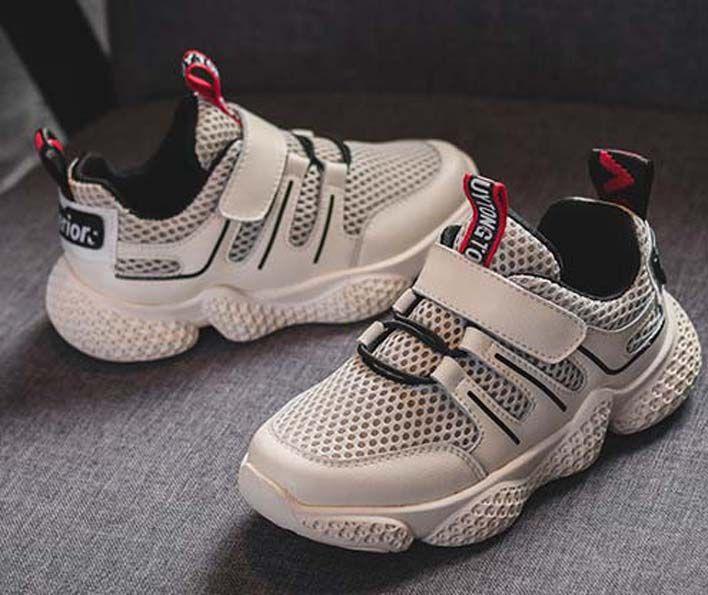 Top Quality Classic Sneaker Chaussures enfants Moda intelligente chaussures scarpe di cuoio piattaforma scarpe per bambini con tre letti aria shoes011 p37