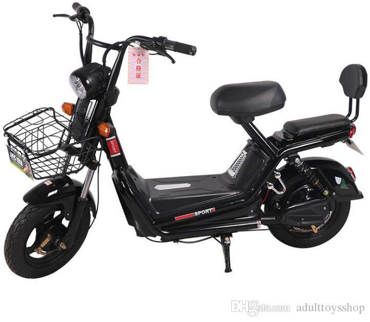 New electric car adult two-wheeled electric bicycles for men and women small battery car one generation mini electric car