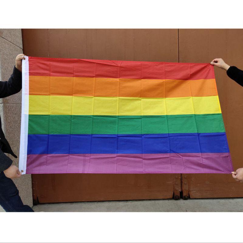 6styles قوس قزح العلم المتحولين جنسيا مثليين راية مثليه المخنثين المتحولين جنسيا أعلام LGBT قوس قزح المثليين حزب راية GGA3491-2