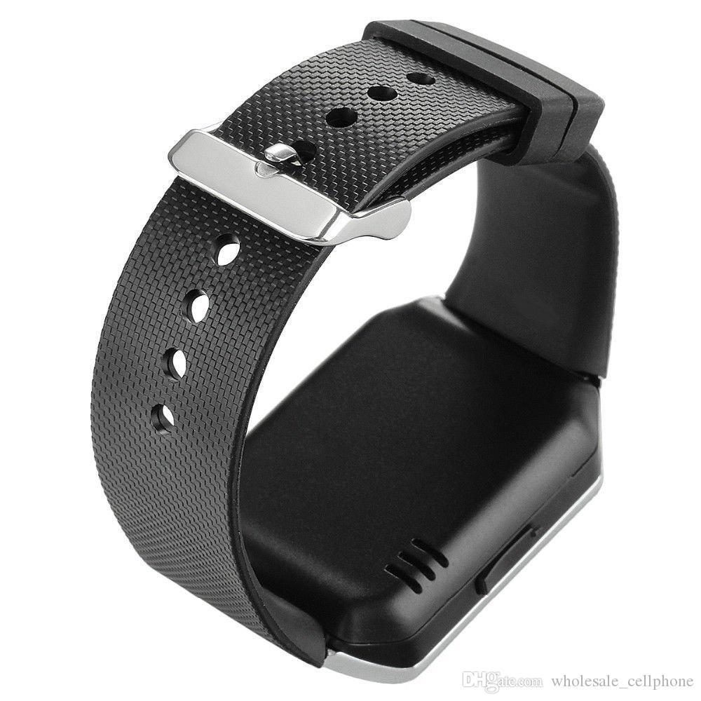 Слот Оригинал DZ09 Смарт Часы Bluetooth Фитнес Tracker Смарт браслет с камерой Часы SIM TF Наручные часы для iPhone Android Phone Watch