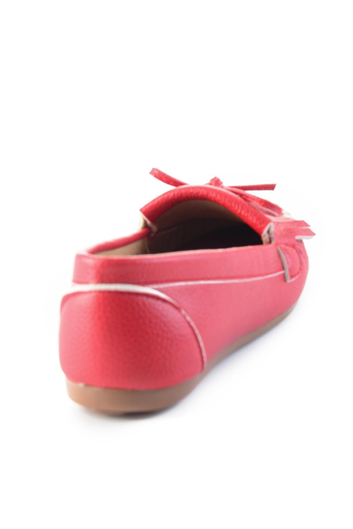 Bambi Red Mulheres Loafer Shoes H0542123109