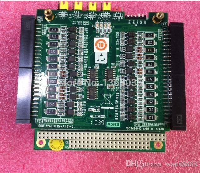 Trabajo 100% probado Perfecto para PCM-3240 4 Axis Motion Rev.A1 01-5 19C3M24000 placa base industrial PC104 CPU Card con PCM-3240 IO