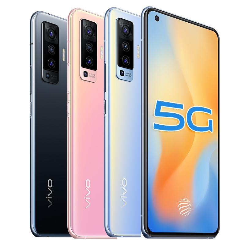 "Original VIVO X50 5G LTE Handy 8 GB RAM 128 GB 256 GB ROM Snapdragon 765 Octa Kernandroid 6,56"" Full Screen 48MP NFC Face ID Handy"