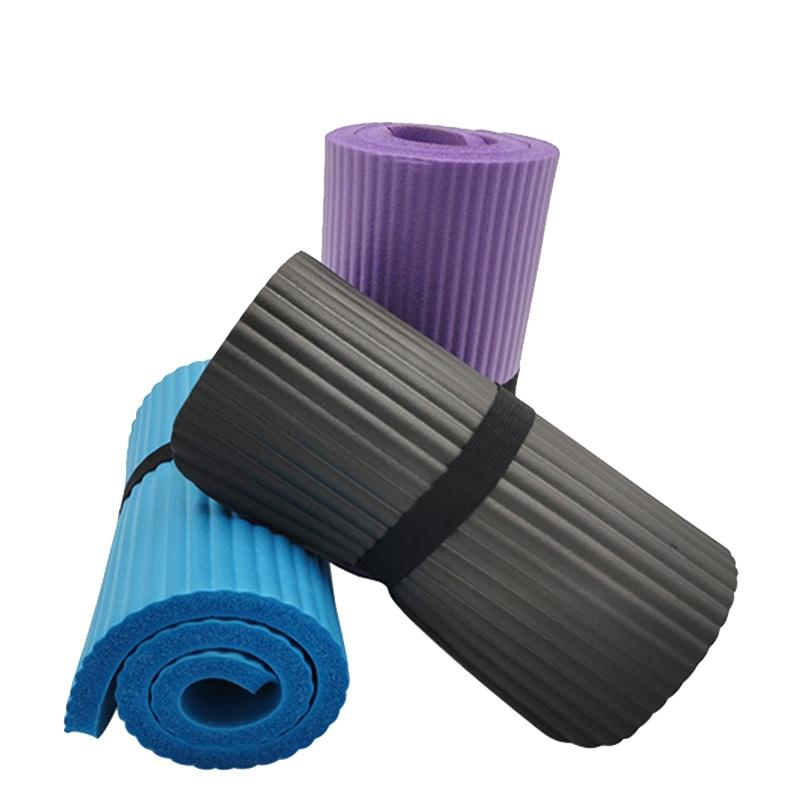 3PCS ispessito antiscivolo Yoga Knee Pad Cuscino gomito Sport Pad ginnastica dolce Pilates pieghevole Indoor fitness