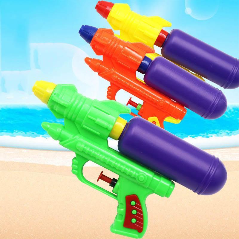Wecute Водяные пушки игрушки Классические игрушки Детские Открытый Beach Water Пистолет Blaster Gun Портативный Брызги Gun Детский пляж игрушки случайный цвет
