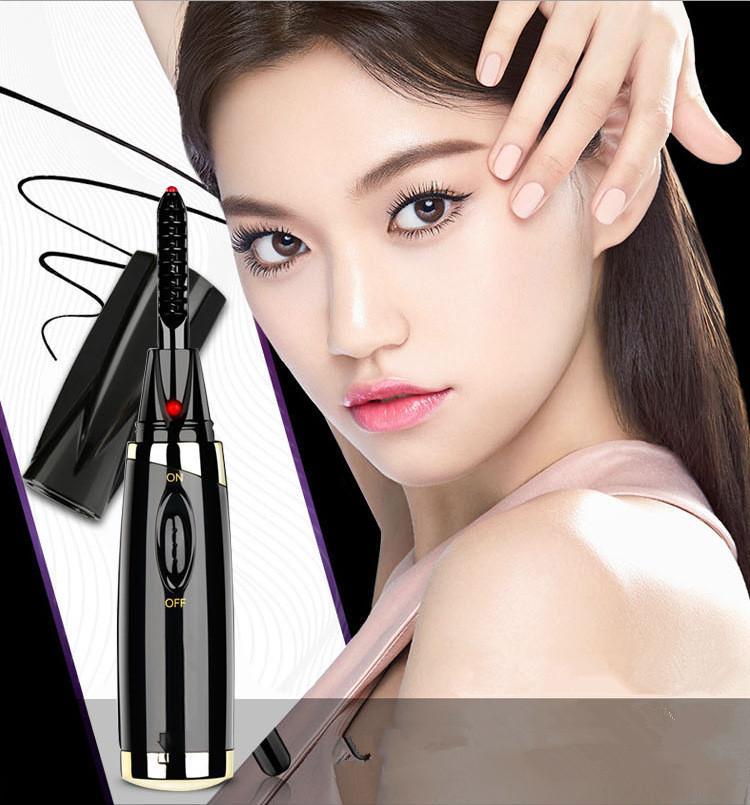 Intelligent Electric Curling Device Lasting Mini Electric Hot Curler Eyelash Curler Perm Eyelash Curler Beauty Tools Big Eyes