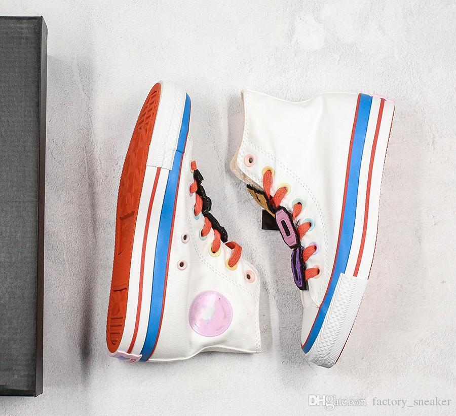 Stilista 1970 scarpe di tela Atletico 1970 scarpe di tela classiche riscaldano Girly cuore casual Formazione scarpe da tennis