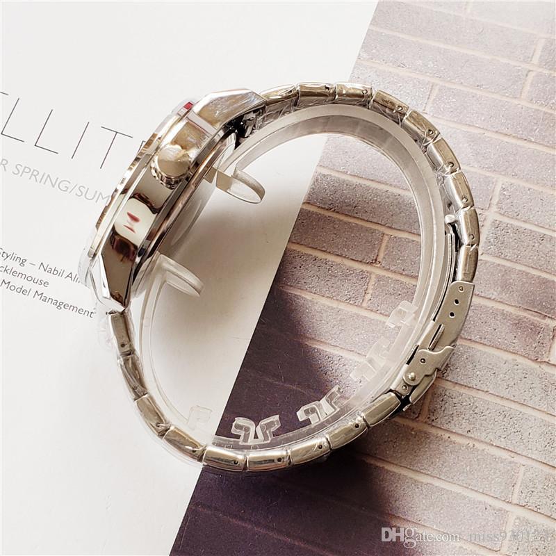347cbf749 ... Boss watches 47mm men luxury gold watch silver watch Brand stainless  steel waterproof quartz movement skeleton ...