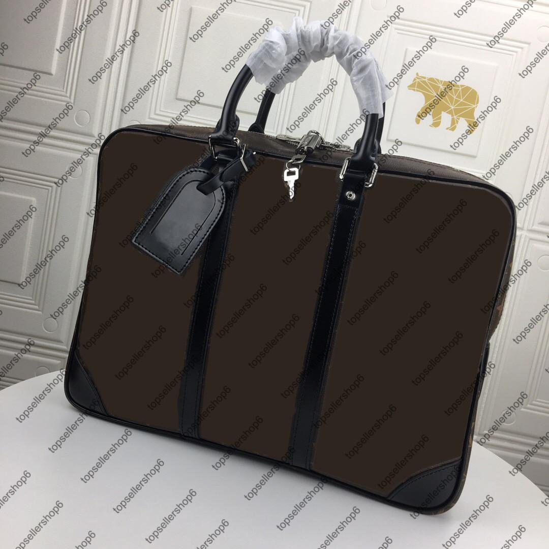 M41125 Spalla Very Uomo Verifica Blocco Canvas Portafolio Attache Agatene Messenger Borsa Borsa Key Borsa Cartella Valigetta Designer Designer Tote HCBJI