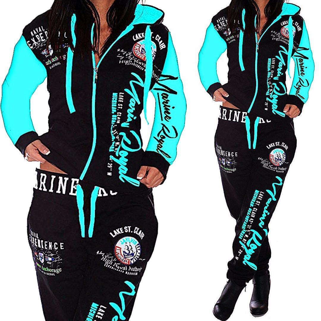 Erkekler / kadın Setleri Giysi Hoodies Pantolon 2 Parça Set Sıcak Bayanlar Baskılı Kadın Kıyafetler Eşleştirme Takım Elbise Erkekler / Kadınlar Tracksuit