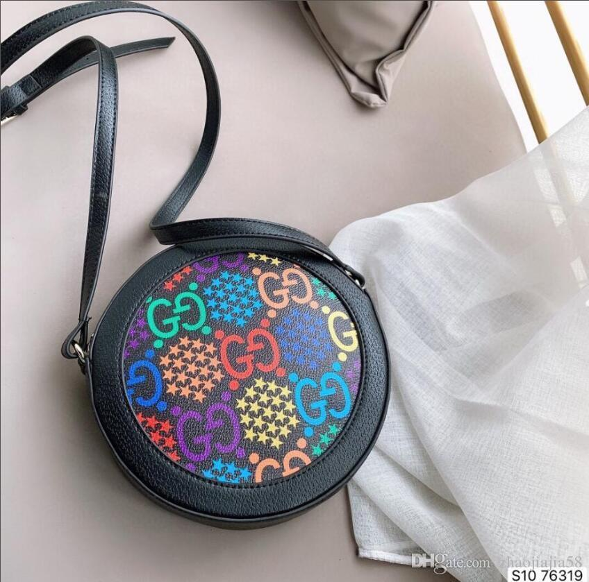 frete grátis 2019 novo saco de correspondência de cores europeu e americano bolsa de couro de moda mini-ombro saco da câmera P024