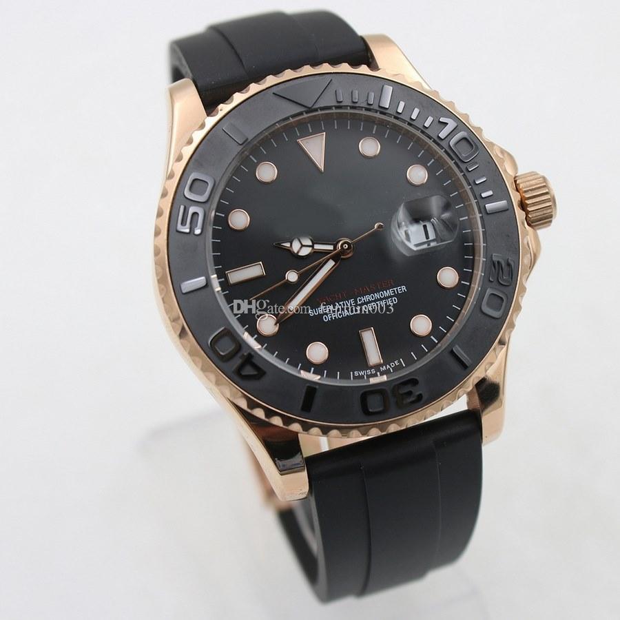 남자는 43mm 40mm 모델 시계 자동 기계식 시계는 청소 운동 시계 MASTER HOT 날짜를보고
