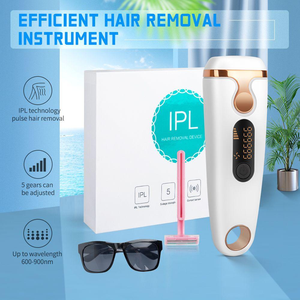 Nouveau dispositif de soins de la peau Beauté 2019 Soins personnels Produits de beauté machine portable IPL épilation permanente de l'appareil