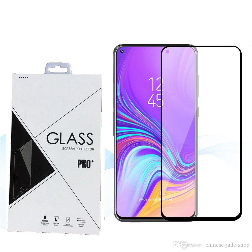9H Full Cover Tempered Glass Screen Protector Silk Printed FOR Samsung Galaxy A2 CORE J2 CORE A9 2019 J4 PLUS J6 PLUS retail 600pcs