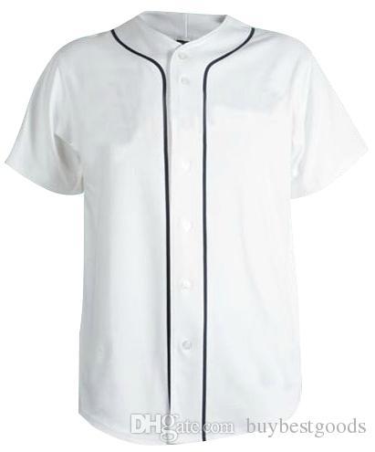 2020 Custom Blank Baseball Jerseys