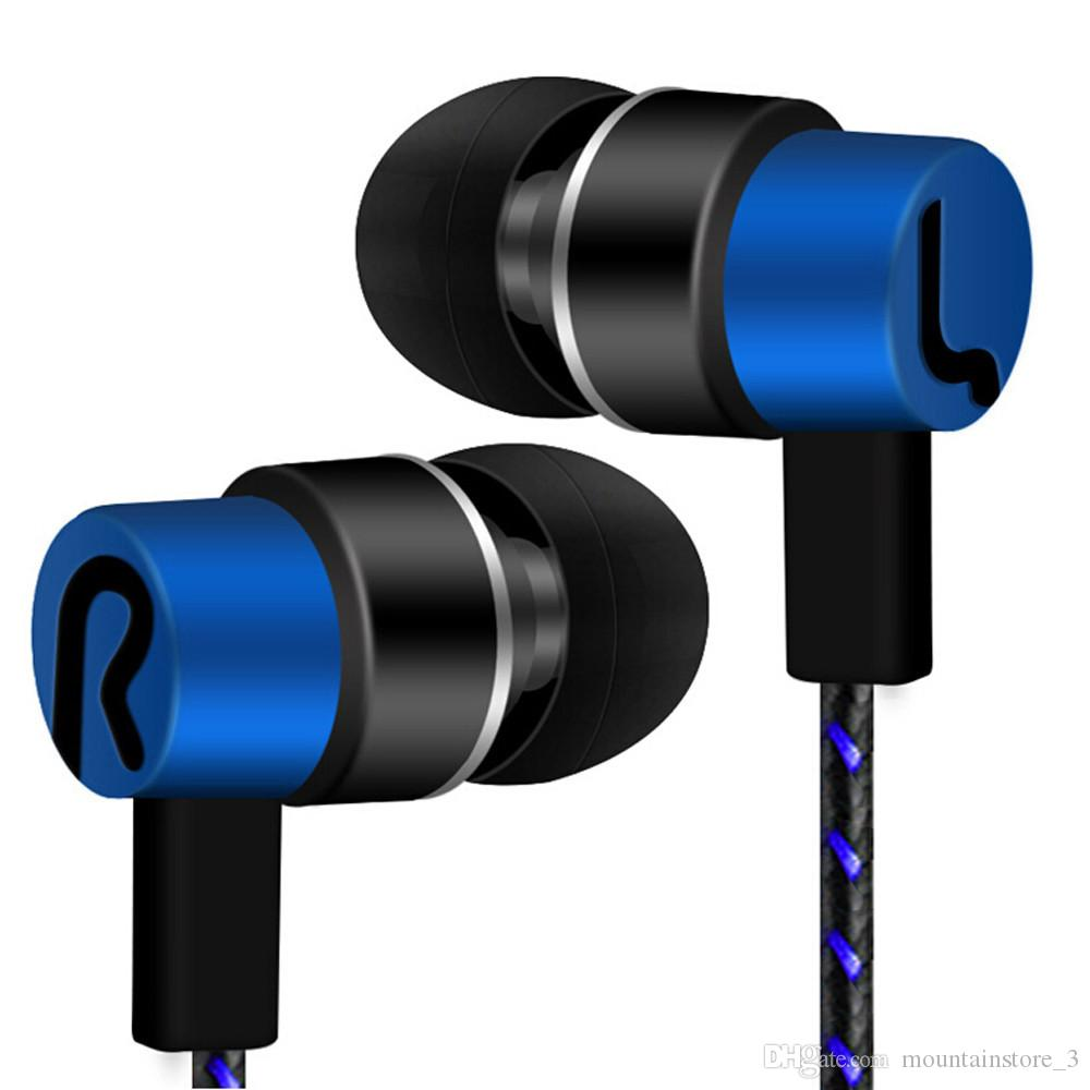 Newly Sports Earphone With No Microphone 3.5mm In-Ear Stereo Earbuds Headset For Computer Cell Phone MP3 Music