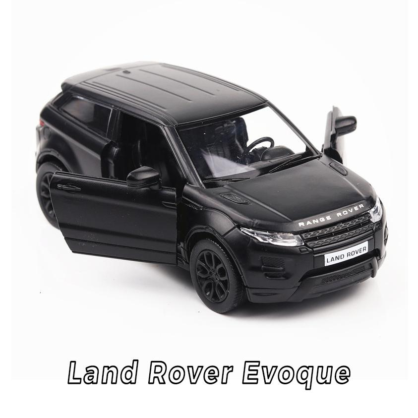 Sıcak 1:36 tekerlekler ölçekli simülasyon diecast arabalar Land Rovers evoque metal modeli çocuklar hediyeler için geri çekil ...