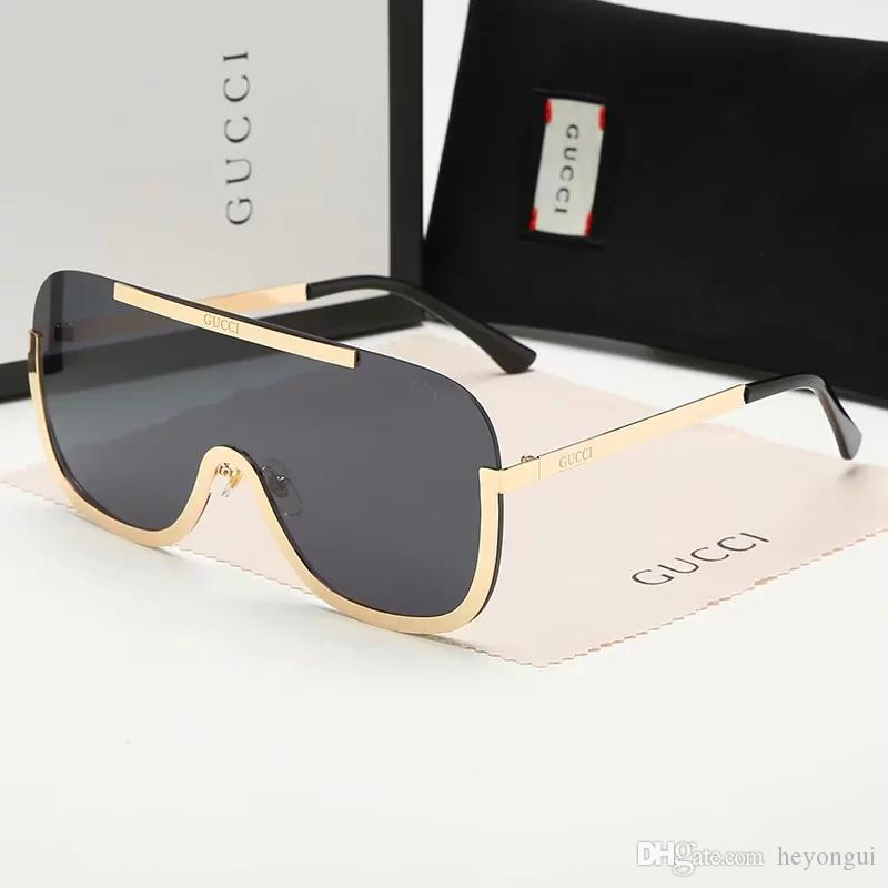 8811 Yüksek Kalite Erkekler ve Kadınlar Için Polarize Lens Moda Güneş Gözlüğü Tasarımcı Gözlük Gözlük Aynalı Güneş Gözlükl ...