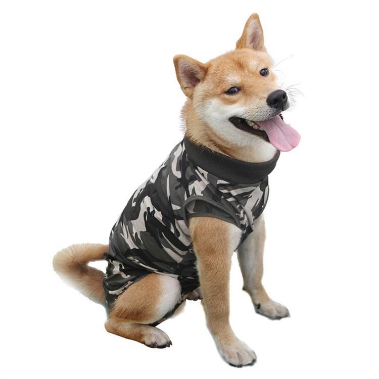 Köpek kurtarma takım elbise yüksek elastik köpek yavrusu tıbbi bakım elbise giyim ve ameliyat sonrası anti-yalama yaralar