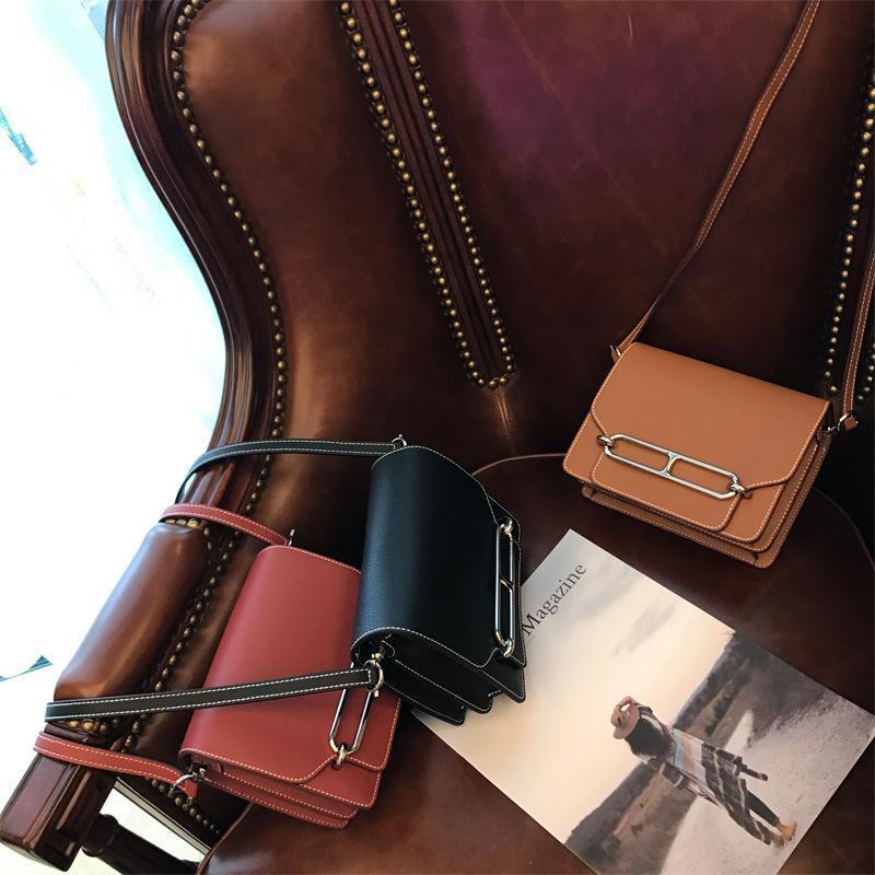 Elegant2019 Piccola Piazza Luxurious2019 Vera Pelle singola spalla Messenger il naso di un maiale È Bag Temperamento donna pacchetto