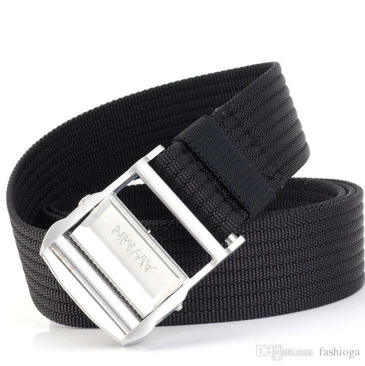 cinturón blanco para hombre del diseñador cinturones cinturones de alta calidad de lona para mujer de la correa de los hombres de la lona y correas de las mujeres 200cm