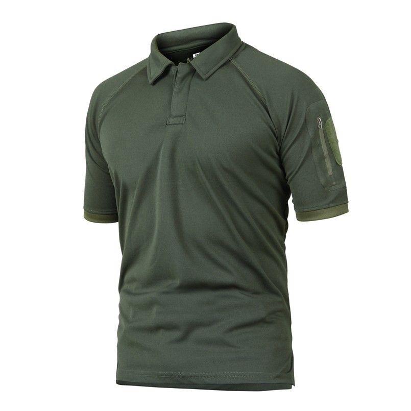 Летний Тактический военный камуфляж Climbing Hikingcamping Футболка Человек Открытый Coolmax Быстросохнущий футболку Army Sports тройники