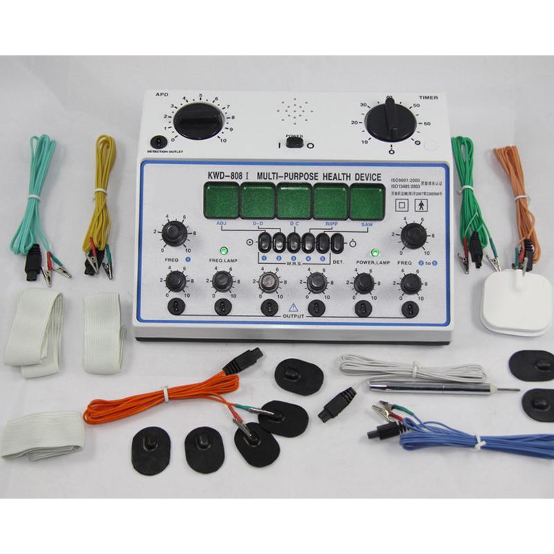 6 قنوات عشرات الوحدة. جهاز تدليك صحي متعدد الأغراض بالإبر محفز KWD-808I acupuntura كهربائي محفز للعصب العصبي