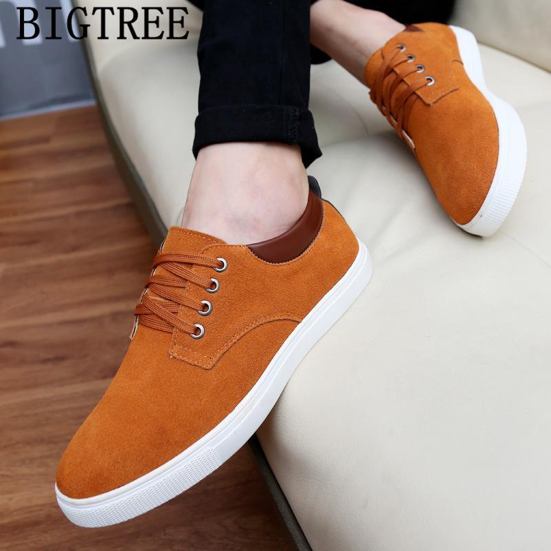 mens sapatos casuais quentes venda sapatas dos homens de couro genuíno homens tamanho grande de alta qualidade masculino sapatilhas de couro tenis
